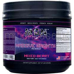 Massive Growth Pre-Workout Mixed Berry 225 gr MGN