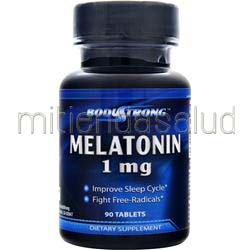 Melatonin 1mg 90 tabs BODYSTRONG