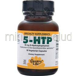 5-HTP 50mg 50 caps COUNTRY LIFE