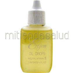 E-Gem Oil Drops - Natural Vitamin E  5 fl oz CARLSON