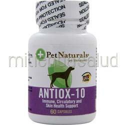 Antiox-10 For Dogs 60 caps PET NATURALS OF VERMONT