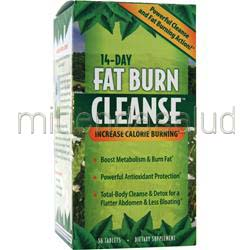 14-Day Fat Burn Cleanse 56 tabs APPLIED NUTRITION