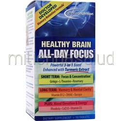 Healthy Brain All-Day Focus 50 tabs APPLIED NUTRITION
