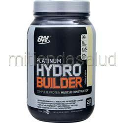 Platinum Hydro Builder Vanilla Bean 2 2 lbs OPTIMUM NUTRITION