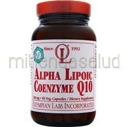 Alpha Lipoic Coenzyme Q10 200mg 60 caps OLYMPIAN LABS