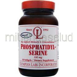 Phosphatidyl-Serine 100mg 60 sgels OLYMPIAN LABS