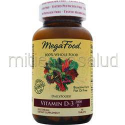 Vitamin D-3 2000IU 90 tabs MEGAFOOD