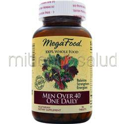 Men Over 40 - One Daily Multi 90 tabs MEGAFOOD