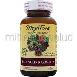 Balanced B Complex 90 tabs MEGAFOOD