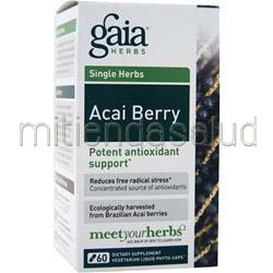 Single Herbs - Acai Berry 60 caps GAIA HERBS