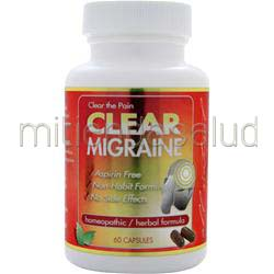Migraine 60 caps CLEAR PRODUCTS