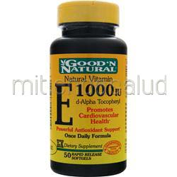 E 1000IU 50 sgels GOOD 'N NATURAL