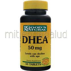 DHEA 50mg 50 tabs GOOD 'N NATURAL