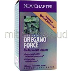 Oregano Force 30 sgels NEW CHAPTER