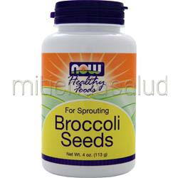 Broccoli Seeds - For Sprouting 4 oz NOW