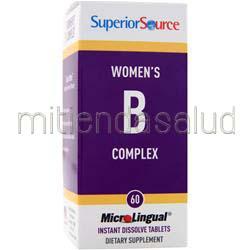 MicroLingual Women's B Complex 60 tabs SUPERIOR SOURCE
