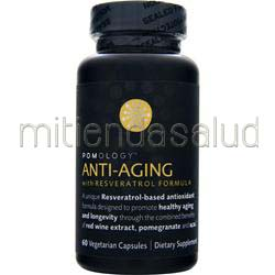 Anti-Aging with Resveratrol Formula 60 caps POMOLOGY