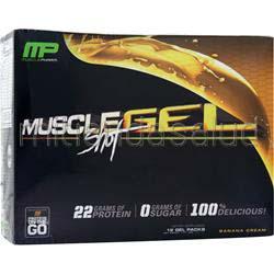 MuscleGel Shot Banana Cream 12 pckts MUSCLE PHARM
