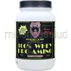 100% Whey Pro-Amino Heavenly Chocolate 2 lbs HEALTHY N FIT
