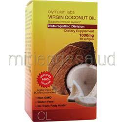 Virgin Coconut Oil 1000mg 60 sgels OLYMPIAN LABS