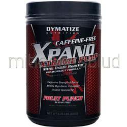 Xpand Xtreme Pump - Caffeine Free Fruit Punch 1 76 lbs DYMATIZE NUTRITION