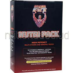 Nutri Pack - High Potency Multi-Vitamin and Mineral Packs 30 pckts HEALTHY N FIT