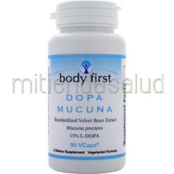 Dopa Mucuna - Standardized Velvet Bean Extract 90 caps BODY FIRST