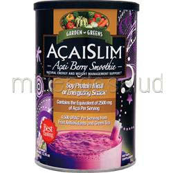 AcaiSlim - Acai Berry Smoothie 390 gr GARDEN GREENS
