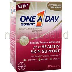ONE A DAY Women's plus Healthy Skin Support 80 tabs BAYER HEALTHCARE