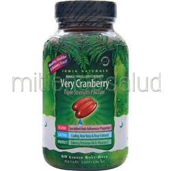 Very Cranberry 60 sgels IRWIN NATURALS