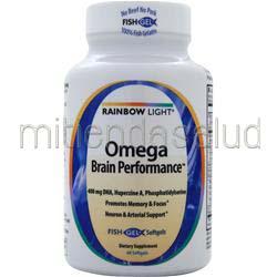 Omega Brain Performance 60 sgels RAINBOW LIGHT
