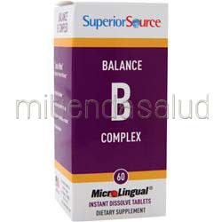 MicroLingual Balance B Complex 60 tabs SUPERIOR SOURCE