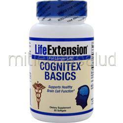Cognitex Basics 60 sgels LIFE EXTENSION