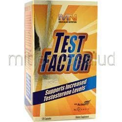 Test Factor 120 caps MOLECULAR NUTRITION