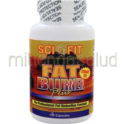 Fat Burner Plus 120 caps SCI-FIT