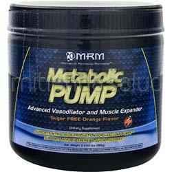 Metabolic Pump Sugar Free Orange 195 gr MRM