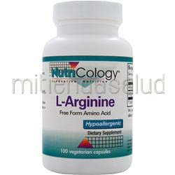 L-Arginine 100 caps NUTRICOLOGY