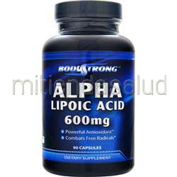 Alpha Lipoic Acid 600mg 90 caps BODYSTRONG