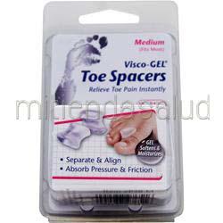 Visco-GEL - Toe Spacers Small 2 unit PEDIFIX