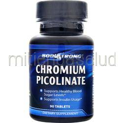 Chromium Picolinate 200mcg 90 tabs BODYSTRONG