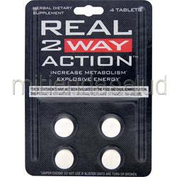 Real 2 Way Action 4 tabs NVE PHARMACEUTICALS