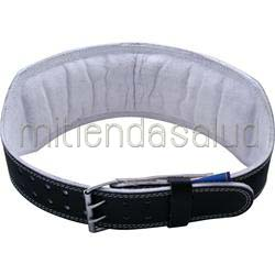 6 Inch Padded Leather Belt Black XL 38-47 waist 1 belt HARBINGER