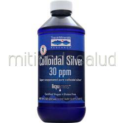 Colloidal Silver 30ppm 8 fl oz TRACE MINERALS RESEARCH