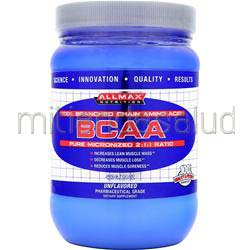 BCAA - Pure Micronized 2:1:1 Ratio Unflavored 14 oz ALLMAX NUTRITION
