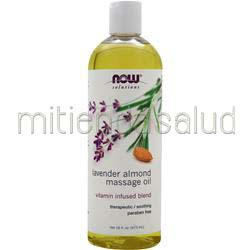 Lavender Almond Massage Oil 16 fl oz NOW