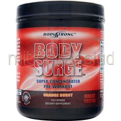 Body Surge - Super Concentrated Pre-Workout Orange Blast 265 gr BODYSTRONG