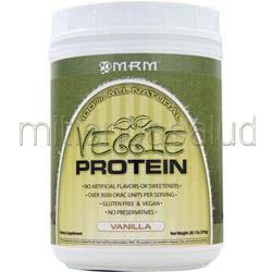 Veggie Protein - 100% All Natural Vanilla 20 1 oz MRM