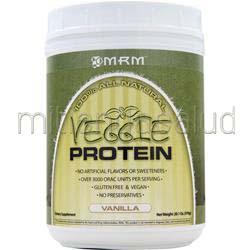Veggie Protein - 100% All Natural Vanilla 20 1 oz MRM