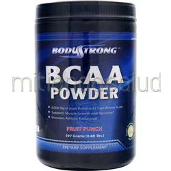 BCAA Powder Fruit Punch 397 grams BODYSTRONG