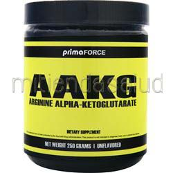 AAKG - Arginine Alpha Ketoglutarate Unflavored 250 gr PRIMAFORCE